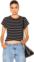 RE/DONE Stripe Boxy Tee