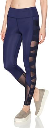 Sam Edelman Women's Criss Cross Mesh Legging