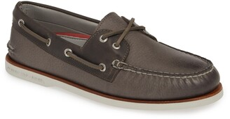 Sperry Kids Sperry Authentic Original Gold Rivinton Boat Shoe