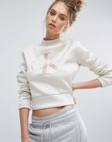 Calvin Klein Jeans High Neck Neoprene Sweat