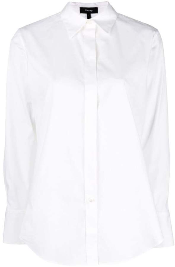 Theory plain fitted shirt