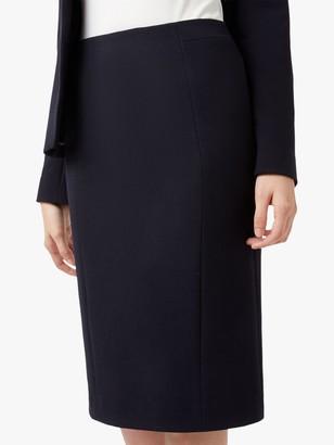 Hobbs Petite Leila Skirt, Navy