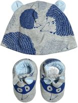Little Marc Jacobs Double Cotton Jersey Hat & Booties