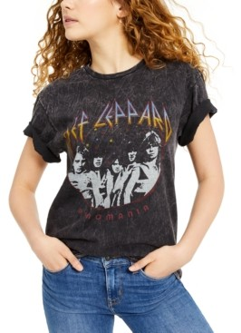 Junk Food Clothing Def Leppard Oversized Graphic T-Shirt