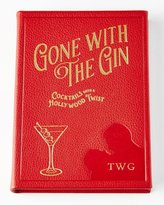 Graphic Image Gone with the Gin Leather-Covered Book