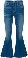 Frame Le Crop Bell jeans - women - Cotton/Spandex/Elastane - 24