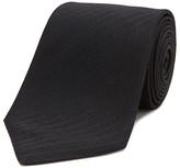 Turnbull & Asser Solid Herringbone Classic Tie