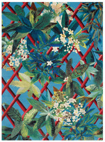 Christian Lacroix Canopy Turquoise Rug