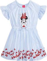 Disney Disney's Minnie Mouse Striped Cotton Dress, Little Girls