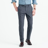 J.Crew Bowery classic pant in brushed cotton twill