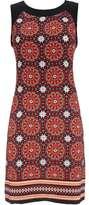 Wallis Orange Printed Shift Dress