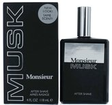 Monsieur Musk Cologne by Dana for Men. Aftershave 4.0 Oz / 120 Ml.