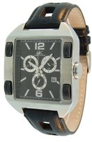 Adee Kaye Men's AK6268-M-BLK Swiss ISA Chronograph Movement