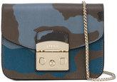 Furla Metropolis camouflage shoulder bag - women - Leather - One Size