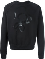 Saint Laurent serpent print sweatshirt