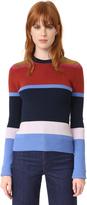Derek Lam 10 Crosby Striped Sweater