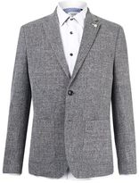 Burton Mens Grey Scratch Blazer