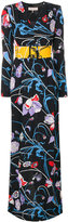 Emilio Pucci patterned maxi dress