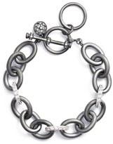 Freida Rothman Women's Contemporary Deco Heavy Chain Bracelet