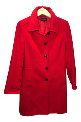 Jaeger Red Wool Coats