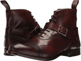 Alexander McQueen Luke Brogue Boot w/ Strap Buckle Men's Boots
