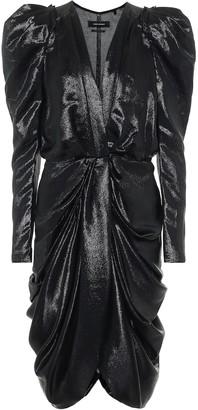 Isabel Marant Issolya silk-blend minidress