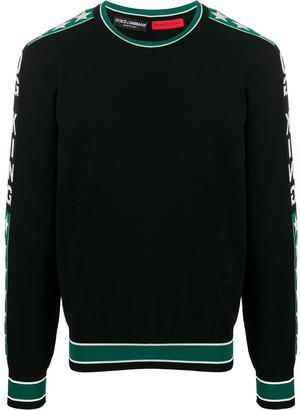Dolce & Gabbana King crew neck jumper