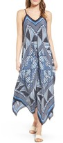 Nic+Zoe Petite Women's Calypso Silk Blend Maxi Dress
