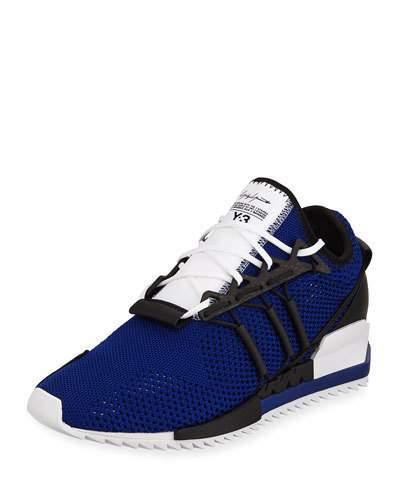 Y-3 Men's Harigane Sock Sneaker, Blue