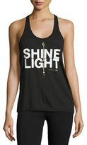 Spiritual Gangster Shine Light Arrow Racerback Tank Top