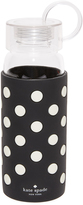 Kate Spade Le Pavilion Black Dot Water Bottle
