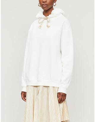 Acne Studios Oversized organic cotton hoody