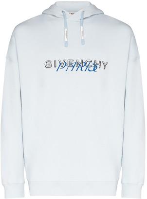 Givenchy Paris logo hoodie