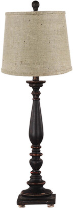 Ahs Lighting & Home Decor 29In Liberty Black Table Lamp Base