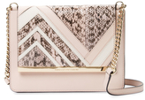 Diane von Furstenberg Soiree Large Snakeskin & Leather Crossbody