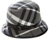 Burberry Smoke Check Hat