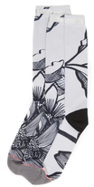 Stance Everyday 200 Lined Leaves Socks