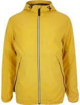 River Island Yellow Jack & Jones Vintage Nylon Jacket