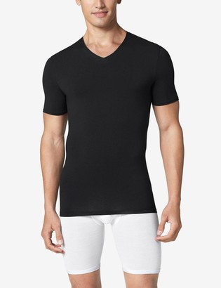 Tommy John Cool Cotton High V-Neck Stay-Tucked Undershirt 2.0