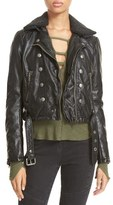 Free People 'Ashville' Faux Leather Biker Jacket