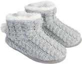 Accessorize Sammie Sparkle Knit Slipper Boots