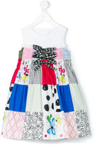 Simonetta patchwork dress - kids - Cotton - 3 yrs