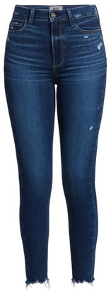 Paige Margot Ankle Distressed Hem Jeans