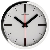 "Oliver Hemming Wall Clock with Simple Contemporary Dial (16"")"