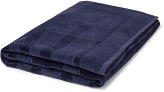 Vilebrequin Sand Logo-Jacquard Cotton-Terry Beach Towel