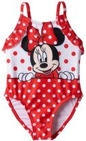 Disney Disney's Minnie Mouse Baby Girl Polka-Dot One-Piece Swimsuit