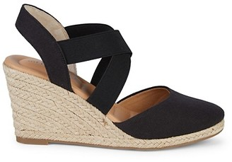 ...Me Too Shoes Brinley Criss-Cross Wedge Sandals