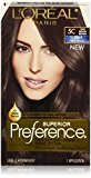 L'Oreal Superior Preference Fade-Defying Color + Shine System, 5C Cool Medium Brown(Packaging May Vary)