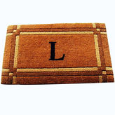 Asstd National Brand Imperial Monogram Doormat