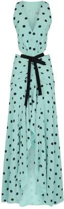 Silvia Tcherassi Polka Dot Frill Dress